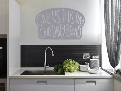 Kitchen Wall Quote